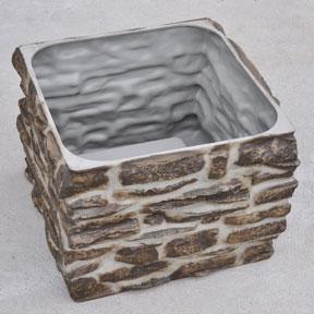 Rock Planter Boxes