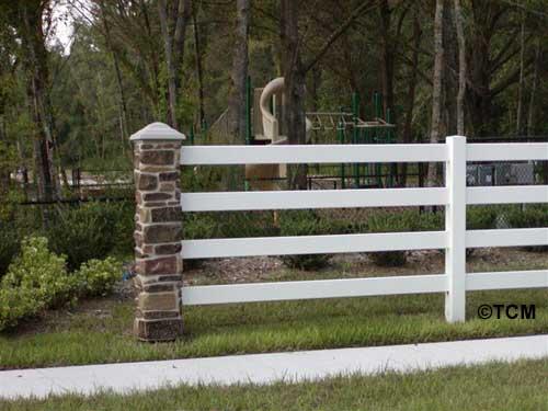 Stone Fence Pillars : Stone rock post pillar pictures