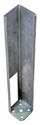 Post Mount For Vinyl Fence Deck Railing