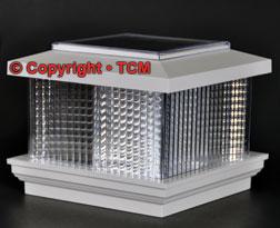 Solar Lights For Pvc Vinyl Deck Fence Post